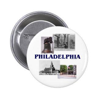 ABH Philadelphia 6 Cm Round Badge