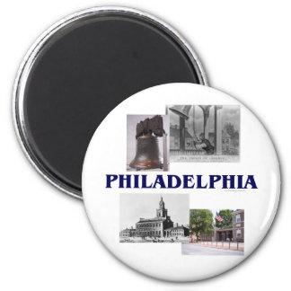 ABH Philadelphia 6 Cm Round Magnet