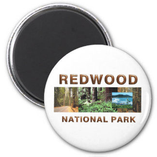 ABH Redwood 6 Cm Round Magnet