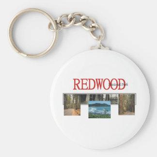 ABH Redwood Basic Round Button Key Ring