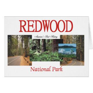 ABH Redwood Greeting Card