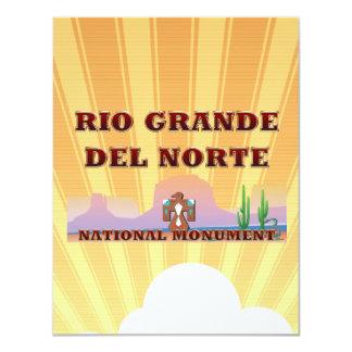 ABH Rio Grande del Norte 11 Cm X 14 Cm Invitation Card
