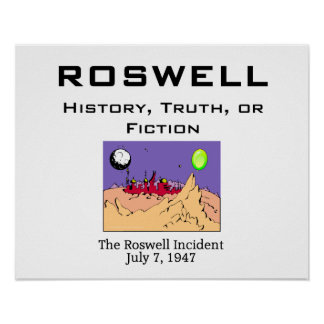 ABH Roswell Posters