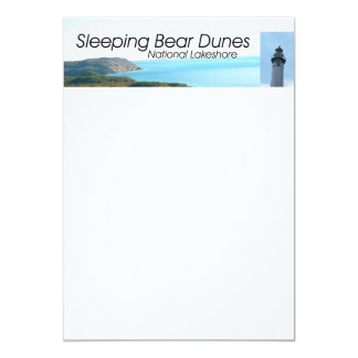 "ABH Sleeping Bear Dunes 5"" X 7"" Invitation Card"