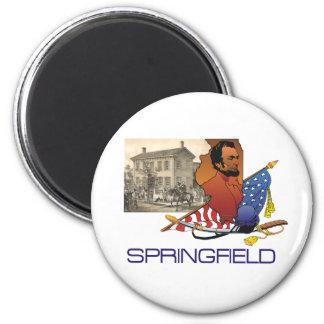 ABH Springfield 6 Cm Round Magnet