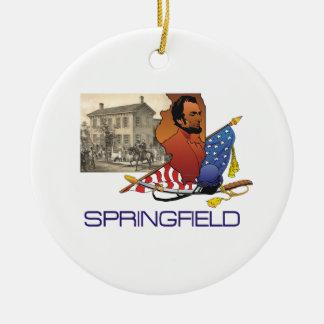 ABH Springfield Christmas Ornament