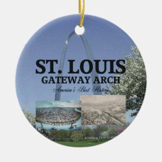 ABH St. Louis Gateway Arch Christmas Ornament