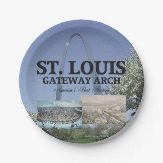 ABH St. Louis Gateway Paper Plate