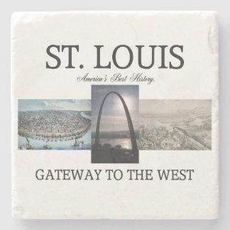 ABH St. Louis Gateway Stone Coaster