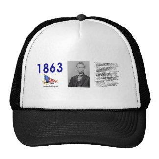 ABH Timeline 1863 Mesh Hats