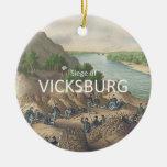 ABH Vicksburg Christmas Ornament