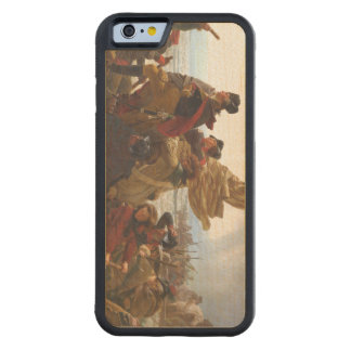 ABH Washington's Crossing Carved Maple iPhone 6 Bumper Case