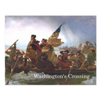 ABH Washington's Crossing Postcard