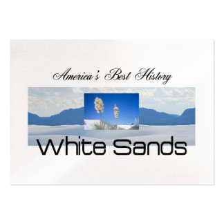 ABH White Sands Pack Of Chubby Business Cards