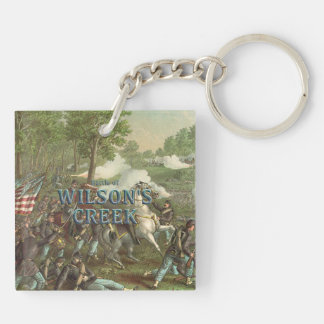 ABH Wilson's Creek Double-Sided Square Acrylic Key Ring