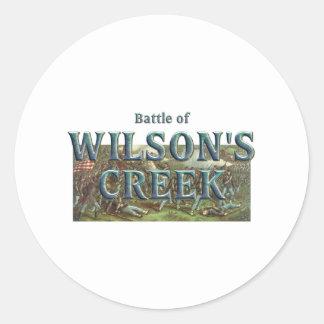 ABH Wilson's Creek Round Sticker