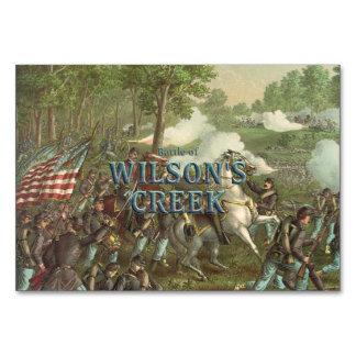 ABH Wilson's Creek Table Card