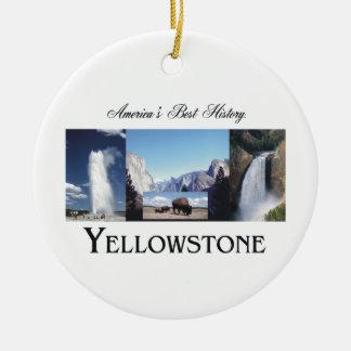 ABH Yellowstone Round Ceramic Decoration