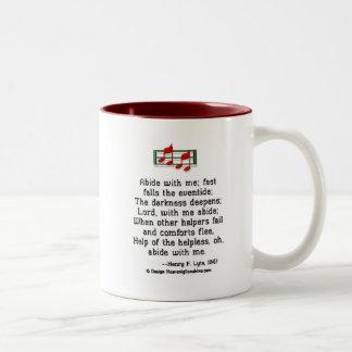 Abide With Me Two-Tone Mug