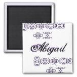 Abigail Designer Name III Magnet