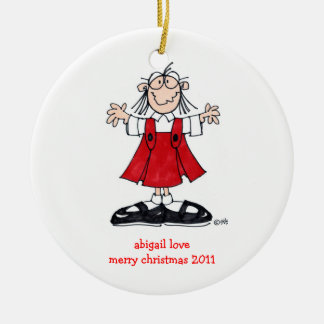 ABIGAIL LOVE CHRISTMAS 2011 ORNAMENT