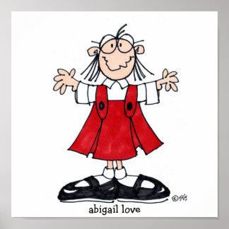 abigail love poster