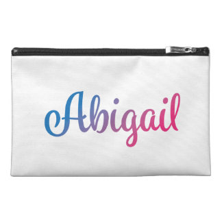 Abigail Stylish Cursive Travel Accessories Bags