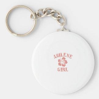 Abilene Pink Girl Key Chains