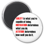 ability motivation attitude magnets