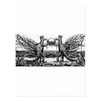 Abiogenic Memetics 1 - Custom Print! Postcard