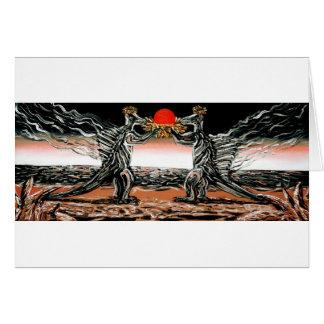 Abiogenic Memetics - Custom Print! Greeting Card
