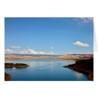 Abiquiu Lake Greeting Card