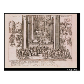 Abjuration of Henri IV Postcard