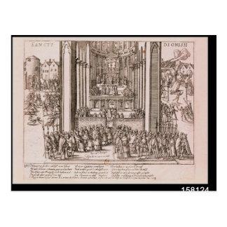 Abjuration of Henri IV Postcard