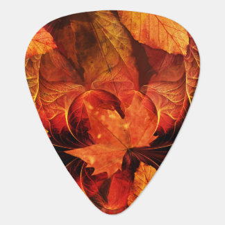 Ablaze with Beautiful Fractal Fall Colors Plectrum