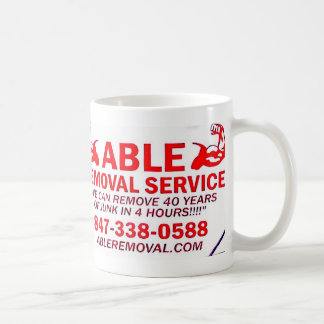 ABLE REMOVAL PRODUCTS COFFEE MUG