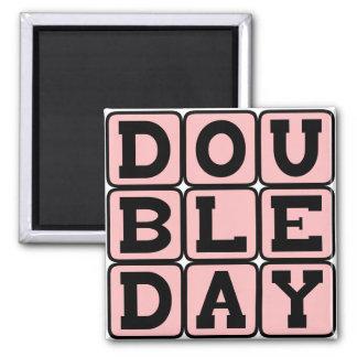 Abner Doubleday Inventor of Baseball Fridge Magnets
