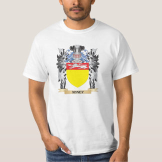 Abney Coat of Arms - Family Crest T Shirt