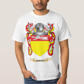 Abney Coat of Arms (Family Crest) Tees
