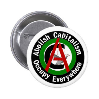 Abolish Capitalism Occupy Everywhere Button