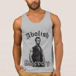 Abolish Sleevery - Abraham Lincoln Tanktop