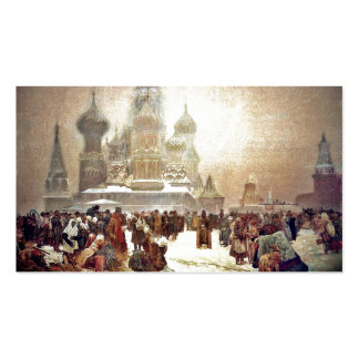 Abolition of Serfdom in Russia 1914 Pack Of Standard Business Cards