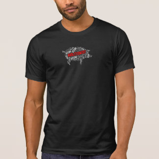 """""""Abolitionist Vegan"""" Word-Cloud Pig with Quote T-Shirt"""