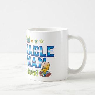 Abominable Snowman Dr. B Head Basic White Mug