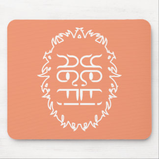 Abominable Snowman Puzzle Mousepad