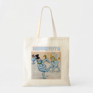 Abominable Snowmen of Minnesota Tote Bag