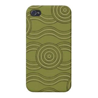 Aboriginal art bush iPhone 4/4S case