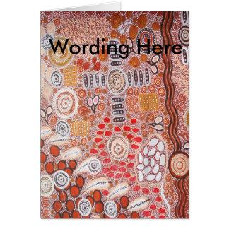 Aboriginal Art Bush Tucker Card