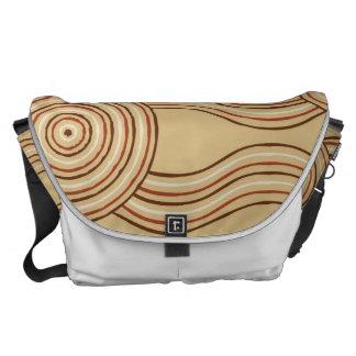 Aboriginal art earth courier bag