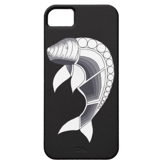 Aboriginal Art iPhone Case - Dugong